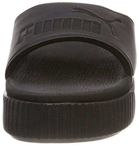 Noir amp; Wns Platform Puma Chaussures 01 Bold Black Black puma De Femme Piscine puma Slide Plage x0TwqvwAt