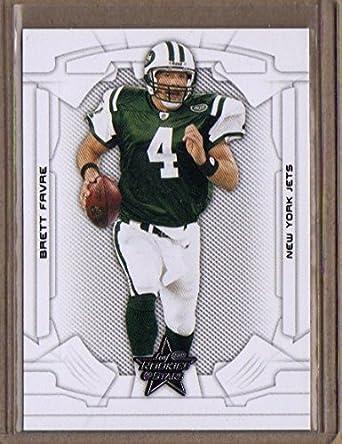 buy popular c4623 9d188 Amazon.com: 2008 Leaf Rookies and Stars #66 Brett Favre ...