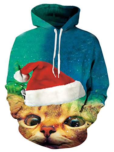 RAISEVERN Unisex Funny Pizza Cat Kitten Designer Casual Lightweight