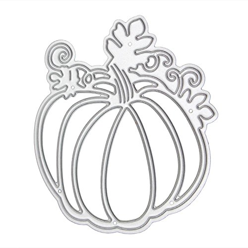 Alloet Pumpkin Halloween Cutting Die Stencil Embossing Scrapbook Craft Folder