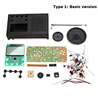 New Geekcreit DIY 3V FM Radio Kit Electronic Learning Suite Frequency Range 72MHz-108.6MHz By koko