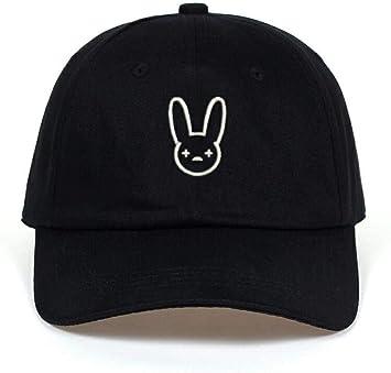 capswhh Bad Bunny Sombrero De Algodón 100% Rapero Artista De ...