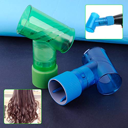 Plastic Salon Wind Spin Magic Curl Hairdryer Diffuser for Air Curler Hair Dryer from Bazzano