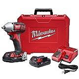 Milwaukee 2658-22CT M18 3/8″ Impact Wrench Kit