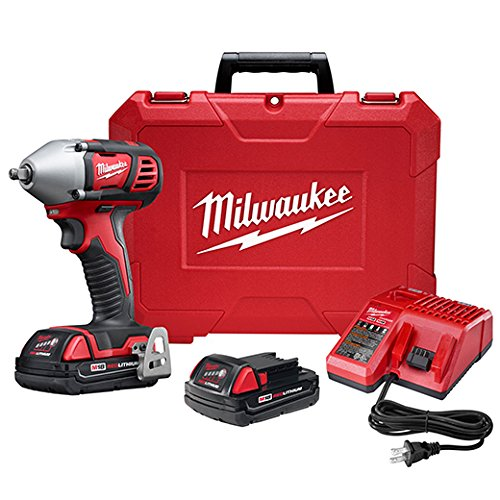 Milwaukee 2658-22CT M18 3 8 Impact Wrench Kit