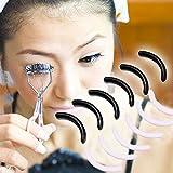 Fenleo 6PCS/1SET Mini Eyelashes Women Eyelash Curler CircleReplacement Pads