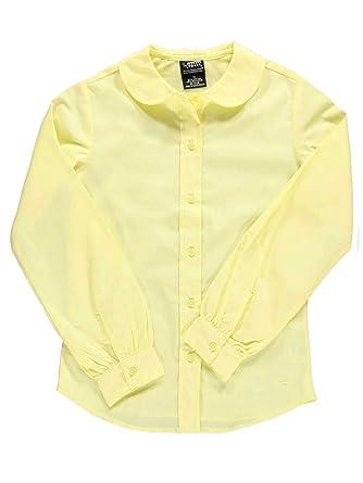 0d1196f868005b Amazon.com  French Toast Girls Long Sleeve Peter Pan Blouse  School Uniform  Shirts  Clothing