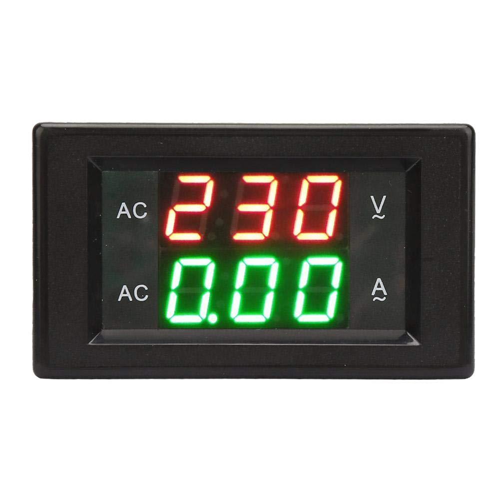 LED Ampere Meter Voltmeter YB4835VA Digital Display AC 500V//50A Digital Voltmeter Current Meter Tester Power Supply