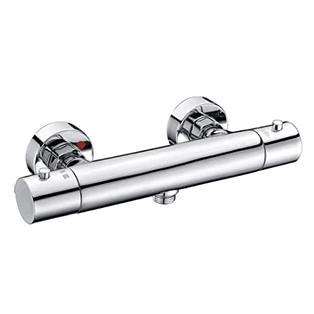 Shower Valve,Thermostatic Wall Mounted Bar Shower Mixer Tap Valve ...