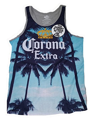 fdcb67c444607e Corona Extra Beer Licensed Graphic Tank Top - X-Large - Buy Online ...