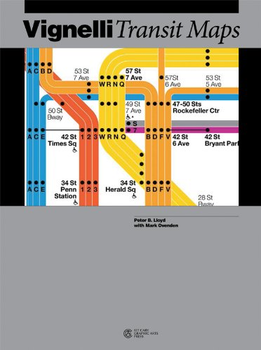 Vignelli Transit Maps