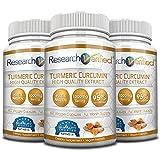 Research Verified Turmeric Curcumin - Vegan with