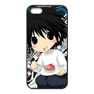 Death Note funda iPhone DJ08BK2 4 4s del teléfono celular funda E3FP6V3LB
