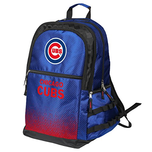 MLB Chicago Cubs Gradient Elite Blue Backpack (Chicago Cubs Collectibles)