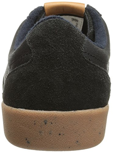 Fred Perry Stockport Nylon / Suede Black Mens Trainers Black