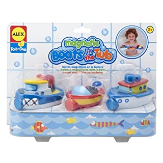 Alex Rub a Dub Magnetic Boats in the Tub Kids Bath Activity
