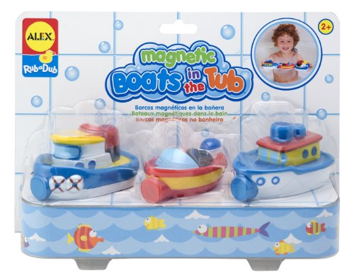 ALEX Toys Rub a Dub Magnetic Boats in the Tub ()