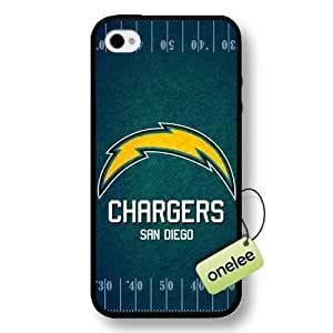 NFL San Diego Chargers Team Logo For Samsung Galaxy S3 I9300 Case Cover Black Hard Plastic Case Cover - Black