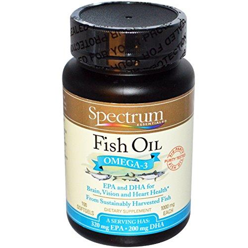 SPECTRUM Essentials Fish Oil Omega 3, 5 Pounds