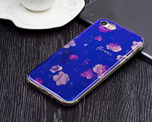 JIALUN-carcasa de telefono Para Apple IPhone 7 Plus Shell caso, la impresión de la moda de la espalda cubierta de la caja del teléfono móvil ( Color : L ) D