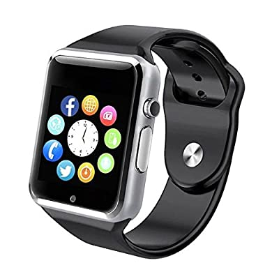 Bluetooth Smart Watch - Sazooy Touch Screen Smart Wrist Watch Smartwatch Phone With Camera Pedometer SIM TF Card Slot for iPhone IOS Samsung LG Android for Men Women Kids