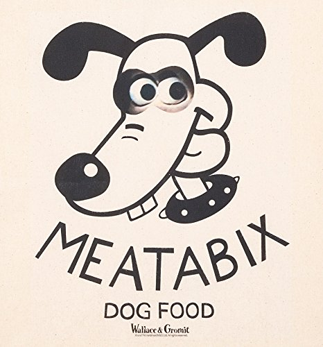 and Wallace Tote Bag Gromit Meatabix Dog Food aqqTwd
