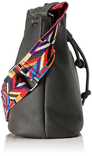 Tom Tailor Denim Anne - Shoppers y bolsos de hombro Mujer Gris (Grau)