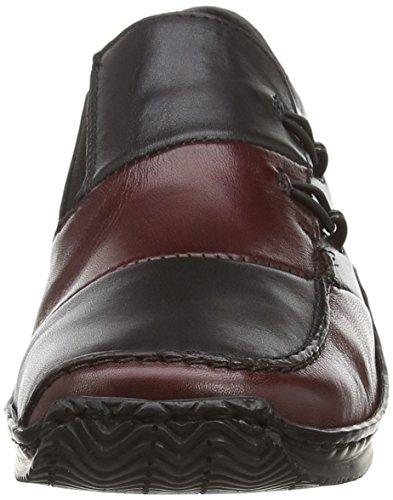 Rieker L1762 Celia 62 Loafer Medoc / Zwart