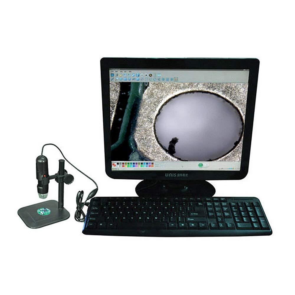 Digitales Mikroskop-Endoskop 500-fache Vergrößerung Endoscope USB-Mikroskop-Digital-Mikroskop mit faltbarem faltbarem faltbarem Ständer Echter 2MP-Sensor 8 LED-USB-Digital-Handmikroskop kompatibel mit Windows XP   Vista B07MJ4DPJ2 | Qualität Produkt  | Faire 145eec