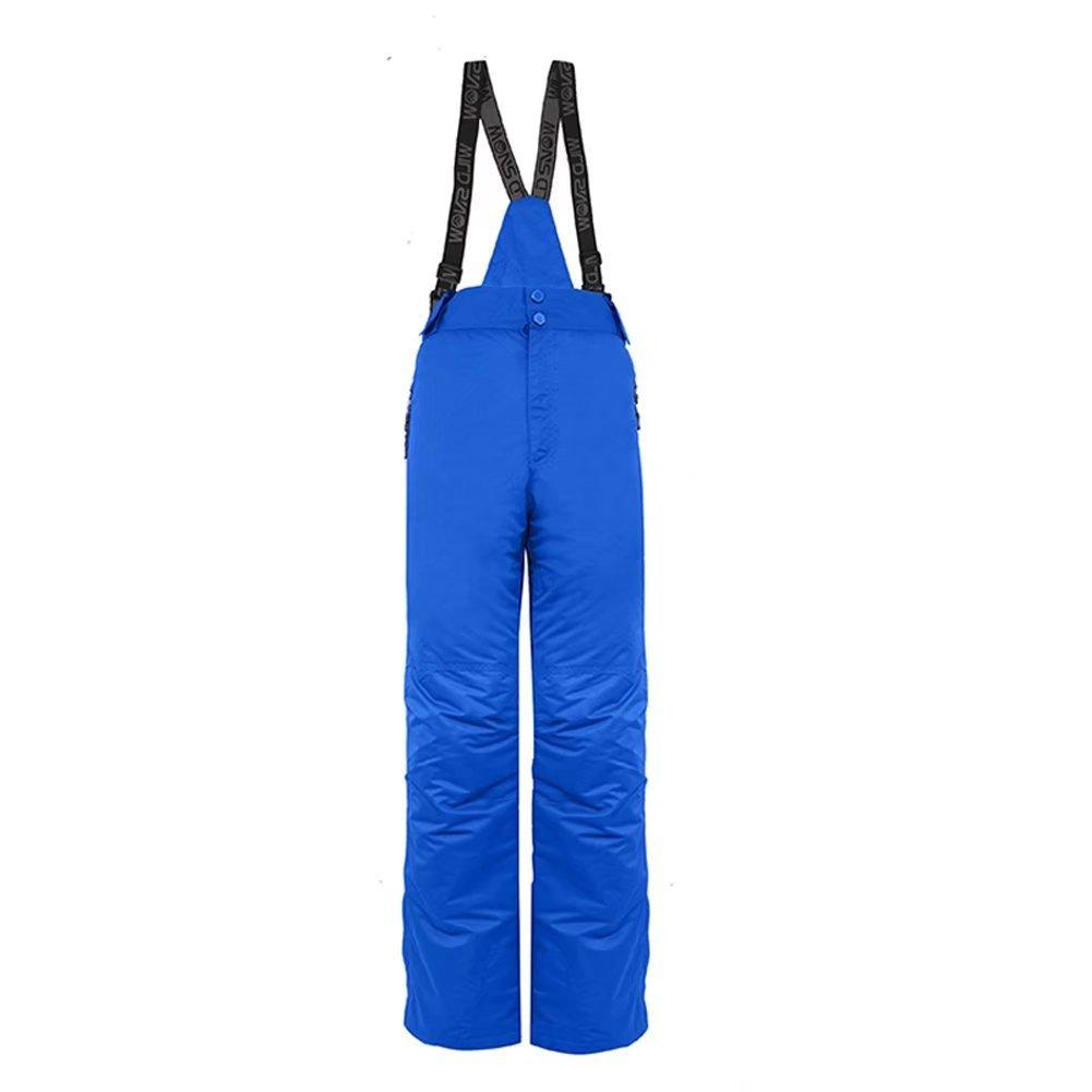 Snow Bibs Pants Adults Skiing Waterproof Pants Men Bibs Trousers WILD SNOW
