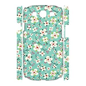 Retro Floral Series Unique Design 3D Cover Case for Samsung Galaxy S3 I9300,custom cover case ygtg599181