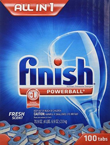 Finish Powerball Dishwashing Tabs - 110 ct.