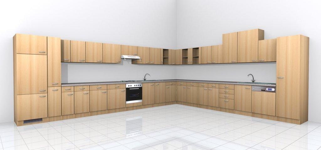Küchen Unterschrank 60 cm Buche - Namu: Amazon.de: Küche & Haushalt