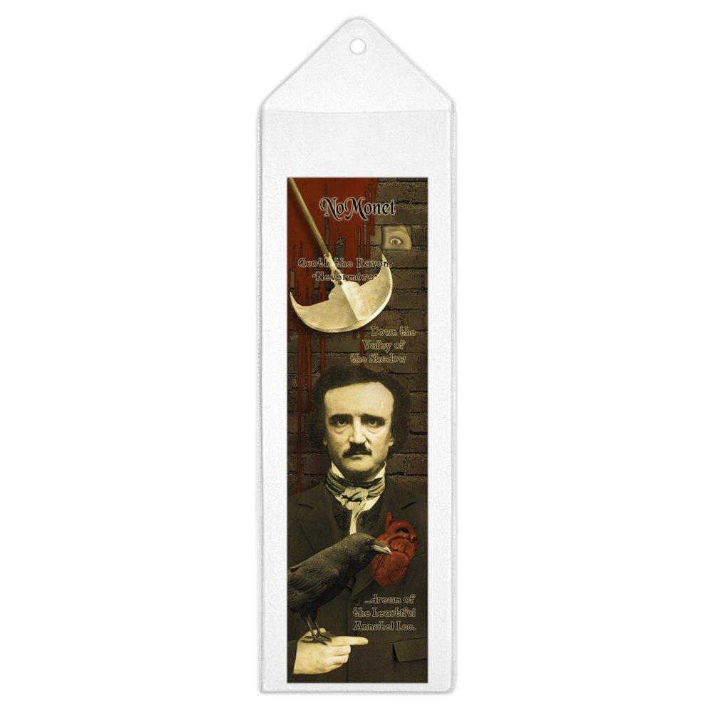 Nomonet/ /Edgar Allan PoE plastica segnalibro in un manicotto di plastica