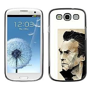 Ihec Tech / Arnold héroe de la acción de la película del personaje / Funda Case back Cover guard / for Samsung Galaxy S3