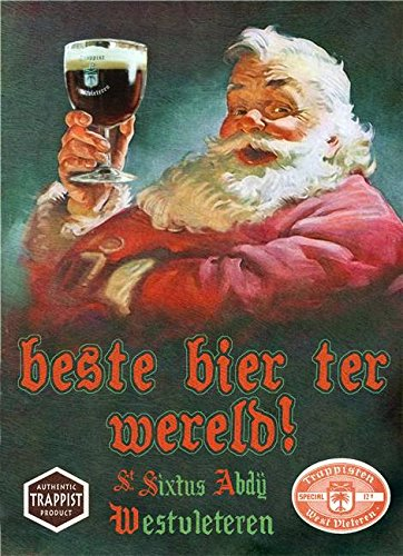 wall-art-print-entitled-westy-12-westvleteren-with-santa-by-r-christopher-vest