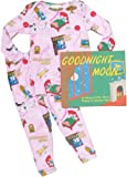 Goodnight Moon Book Pajamas and Book Set from Books to Bed (Baby, Toddler and Kids) Pink, 3T