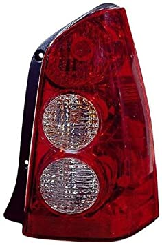 Depo 316-1917R-US Mazda Tribute Passenger Side Replacement Taillight Unit without Bulb 02-00-316-1917R-US