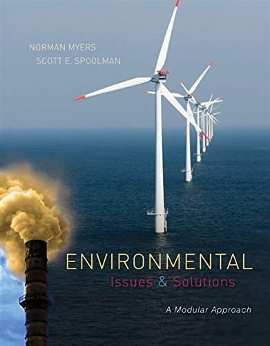 Environmental Issues And Solutions  A Modular Approach  Mindtap Course List