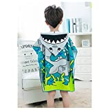 Hmane Cartoon Towel, Cartoon Sandbeach Hooded
