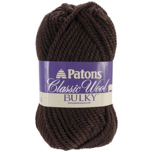 Spinrite Classic Wool Bulky Yarn, Mocha