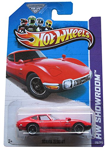Hot Wheels 2013 176 Red Toyota 2000 GT by Mattel