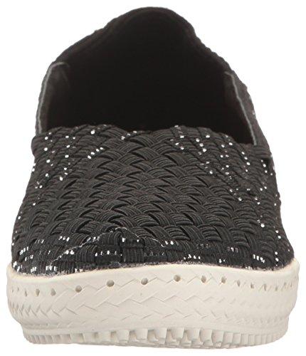 Fashion Sneaker Beth Women's Negro Plateado Mev Bernie qOBZxwUw