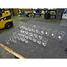Lot of 29 Pyrex & Kimax Beakers 500 400 250 200 150 100 50 mL