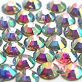 1400 pcs CRYSTAL AB 2mm DIY Resin Round Rhinestones Gems 14 facets Flatback *ship with FREE GIFT from GreatDeal68*