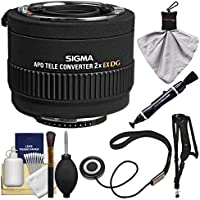 Sigma 2x EX APO DG AF Teleconverter Lens (for Nikon) with Sling Strap + Kit
