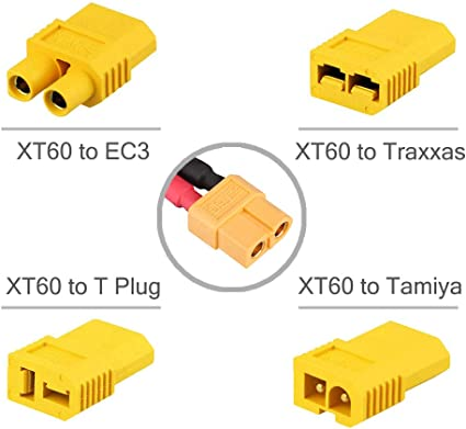 wireless adapter you get 2 of these! t-60 male to Tamiya female one pc