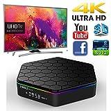 MINGHOO 3G RAM 32G ROM OTT TV BOX Android 6.0 IPTV Smart TV Set Top Box Octa Core BT 4.0 Resolution/3D WiFi H.265 4K Play Stream Media Player