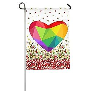 LGBT merecen amor casa bandera de banderas, banderas, banderas al aire libre decorativa, Patio, Casa bandera