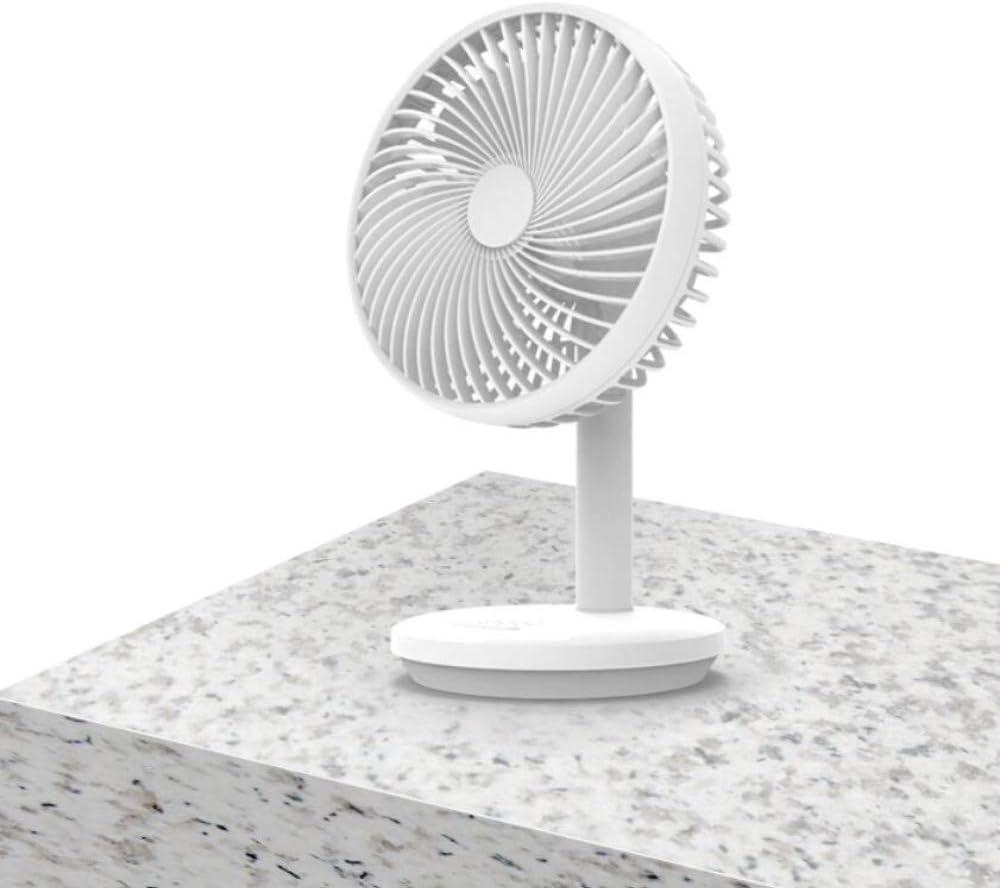 Table Fan Fan Usbusb Small Fan Mute Rechargeable Student Dormitory Office Desktop Desktop Mini Fan Handheld Portable Bedroom Bed Large Wind Refrigeration Air Conditioning Electric Fan Home